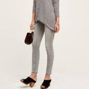 Anthro Pilcro & the Letterpress Gray Stet Jeans 26